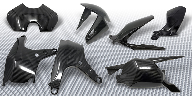 New Product Carbon Fiber Ducati Panigale V4 Extreme Components