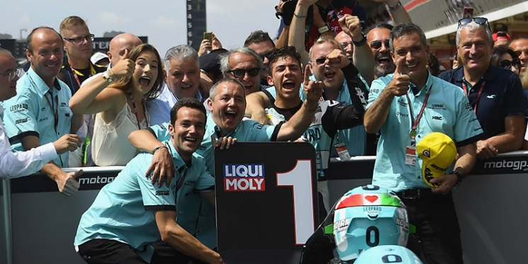 A victory, a podium and a top 10 #CatalanGP