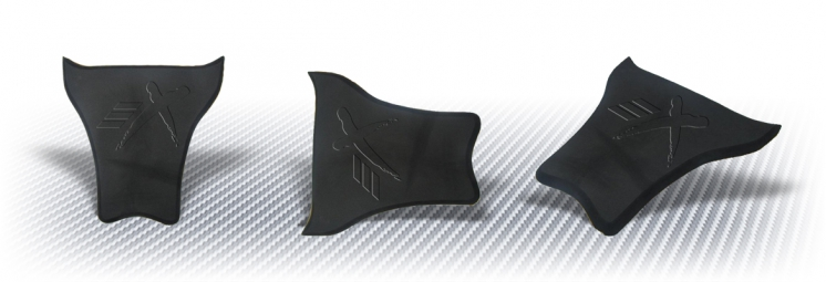 Neoprene saddle in closed cell
