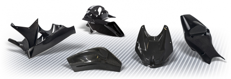 Fairings in carbon fiber
